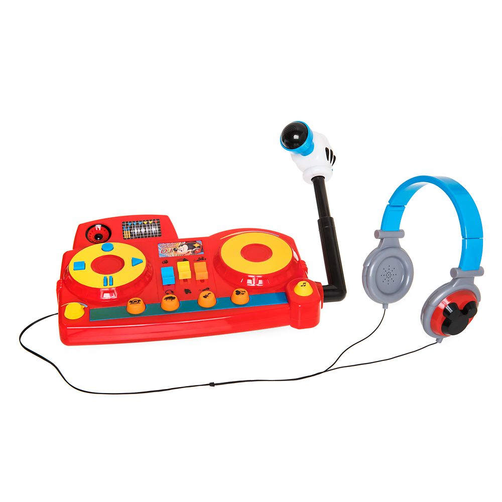 Disney Mickey Mouse DJ Play Set