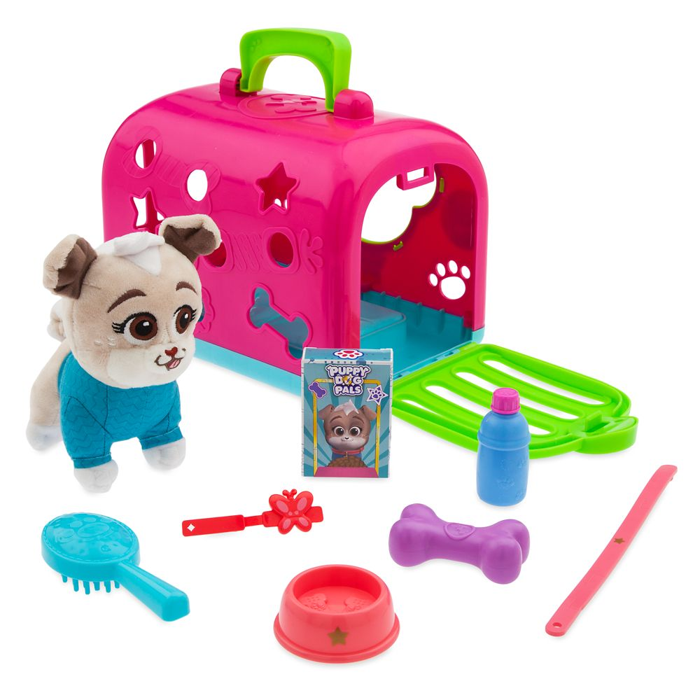Keia Groom and Go Pet Carrier Play Set – Puppy Dog Pals