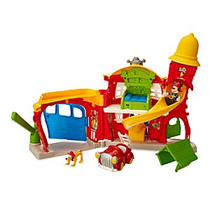 Mickey Mouse Firehouse Play Set 6105055472391P