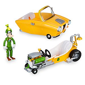 Goofy Transforming Pullback Racer - Mickey and the Roadster Racers