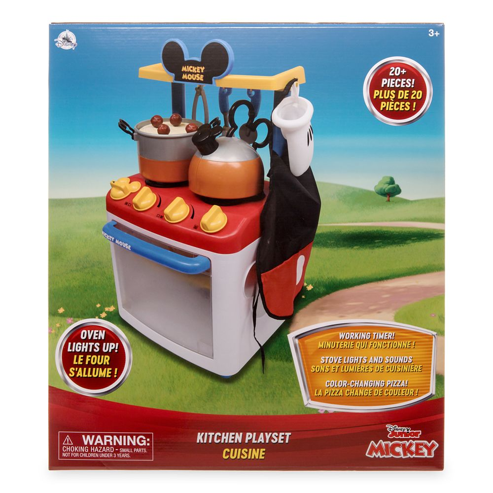 Mickey Mouse Kitchen Play Set