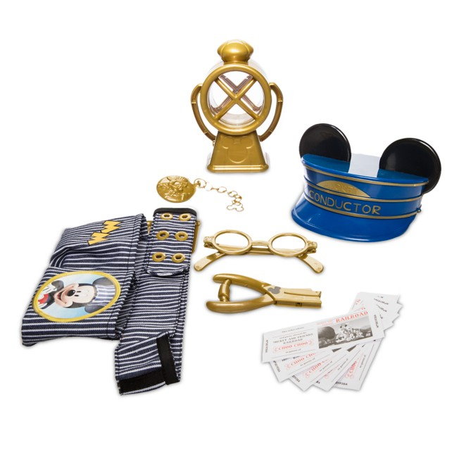 Mickey Mouse Train Conductor Set