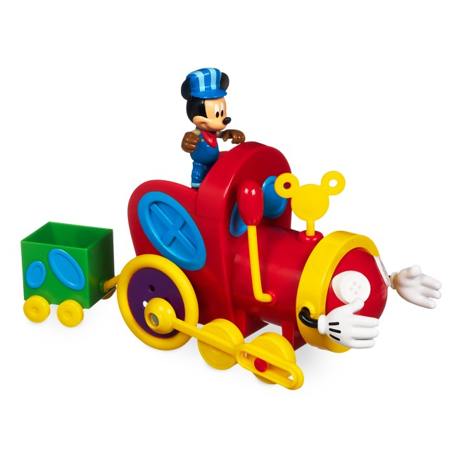 Mickey Mouse Push and Go Mouska Train