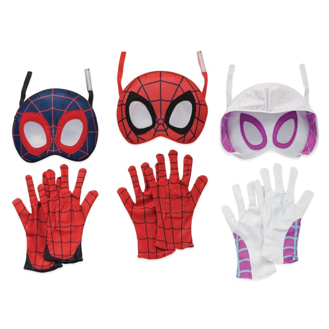 Marvel's Spidey and His Amazing Friends Mask and Gloves Set