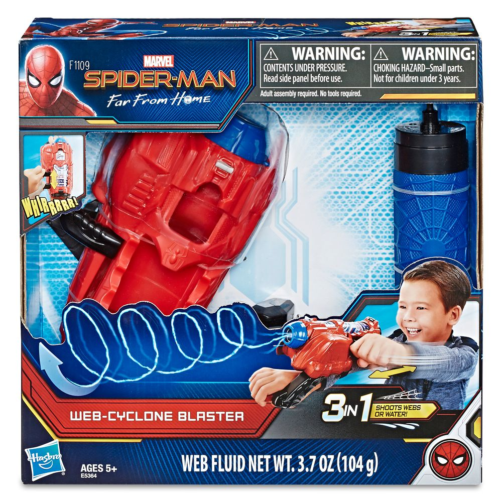 Spider-Man: Far from Home Web-Cyclone Blaster