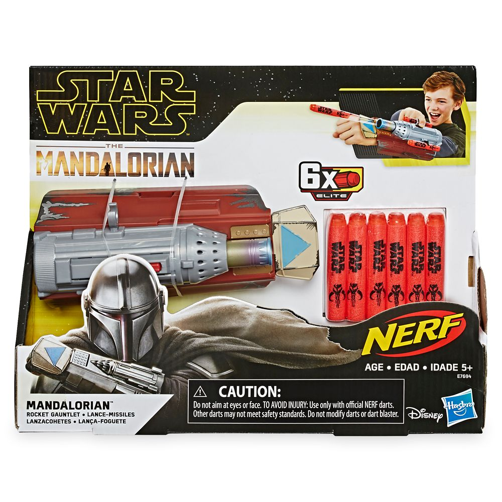 Star Wars: The Mandalorian Rocket Gauntlet by Nerf