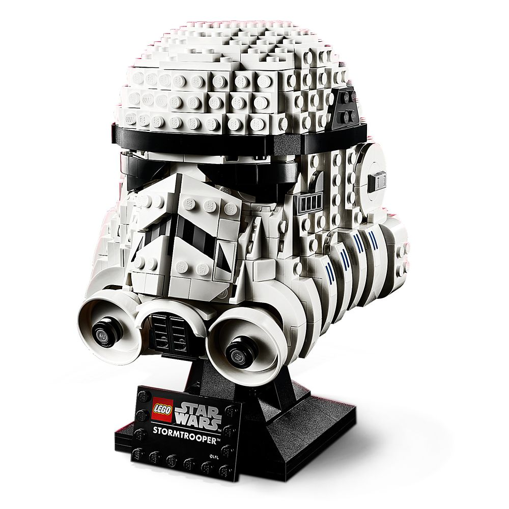 Stormtrooper Helmet Building Set by LEGO – Star Wars: The Empire Strikes Back 40th Anniversary