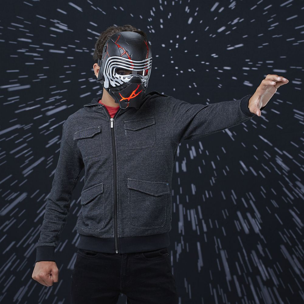 Supreme Leader Kylo Ren Electronic Mask – Star Wars: The Rise of Skywalker