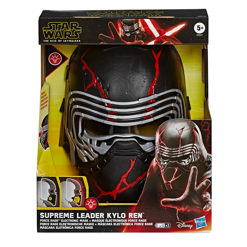 Supreme Leader Kylo Ren Electronic Mask – Star Wars: The Rise of ...