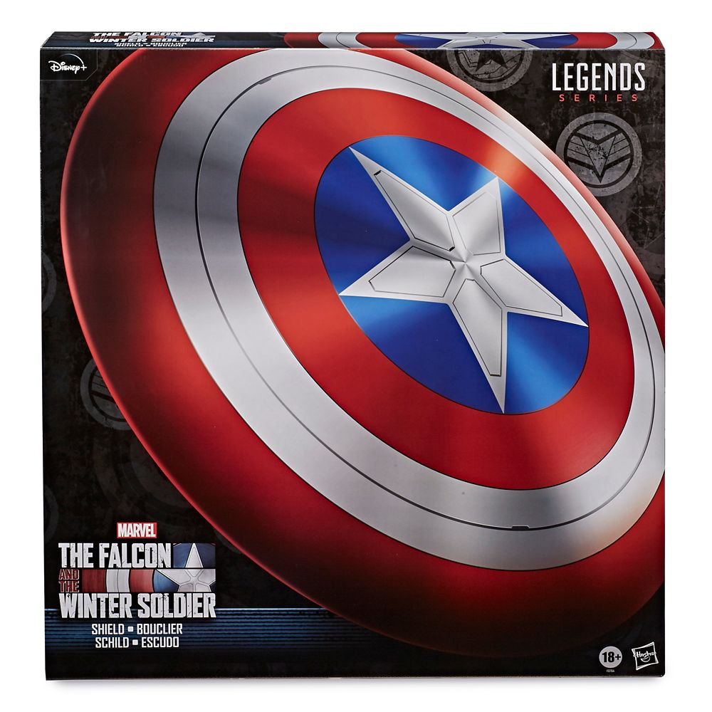 Captain America Shield Collectible by Hasbro – Avengers Legends Series – The Falcon and the Winter Soldier