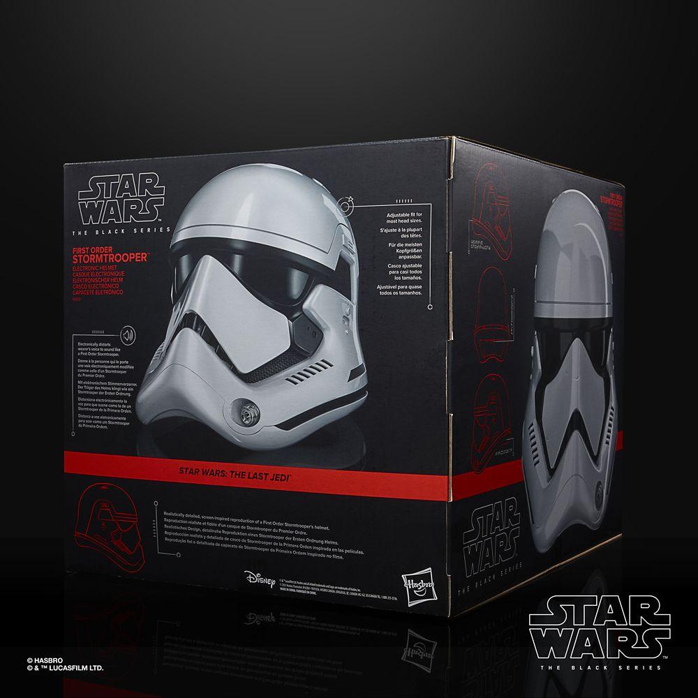 First Order Stormtrooper Electronic Helmet – Star Wars: The Black Series