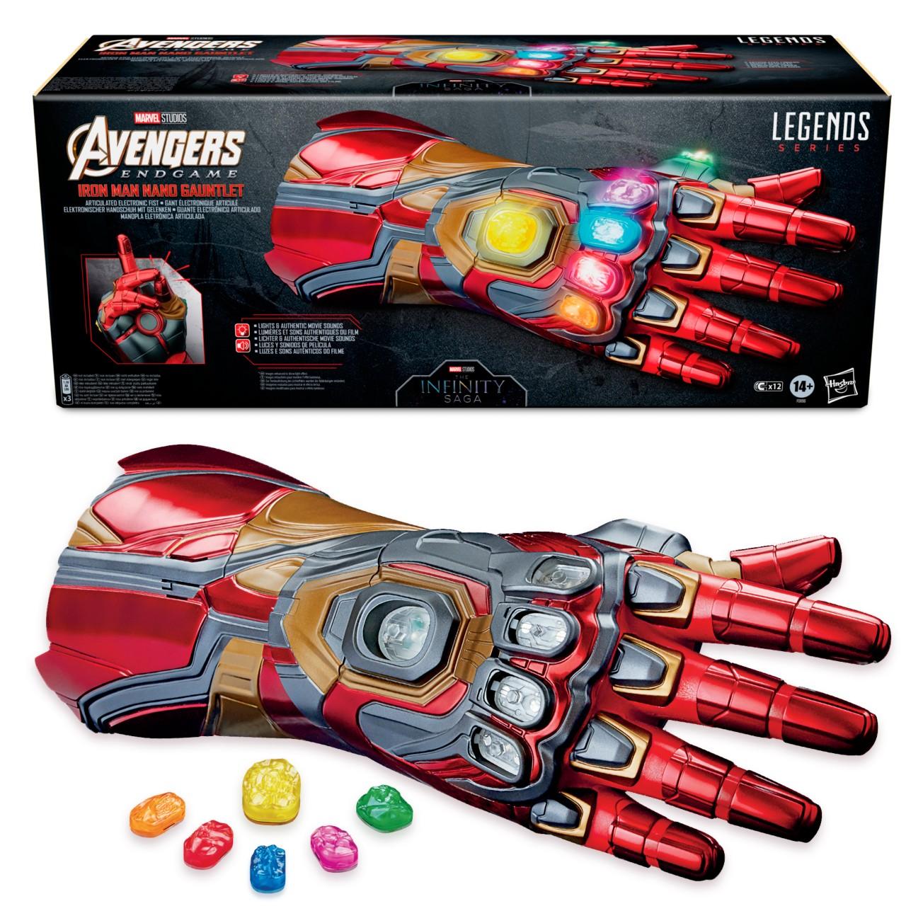 Pre-Order Marvel Legends Series Iron Man Nano Gauntlet