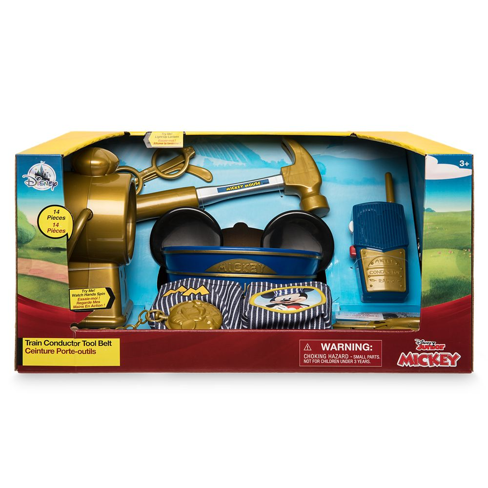 Mickey Mouse Train Conductor Tool Belt