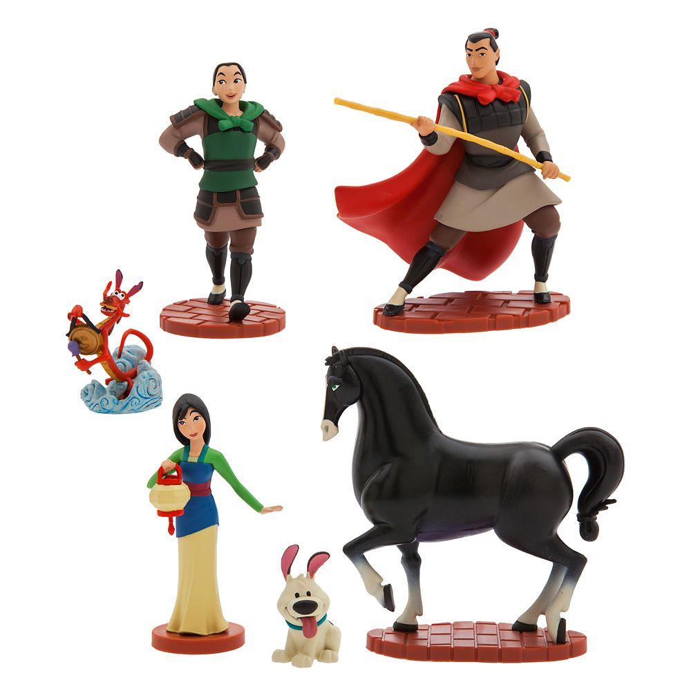 Mulan Figure Play Set