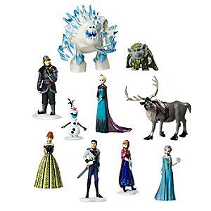 Frozen Deluxe Figure Play Set 6107000440197P