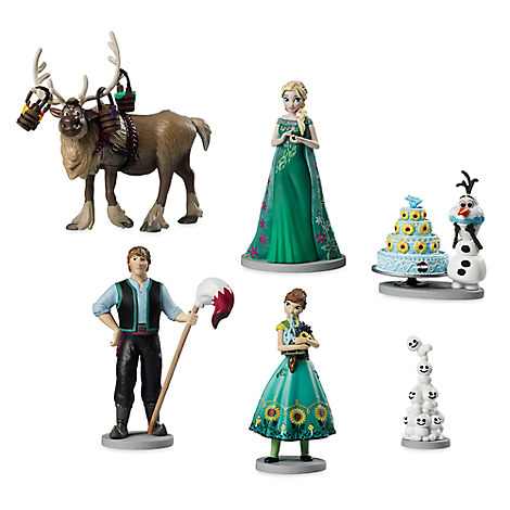 Frozen Fever Figure Play Set