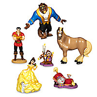 Beauty and the Beast Figure Play Set