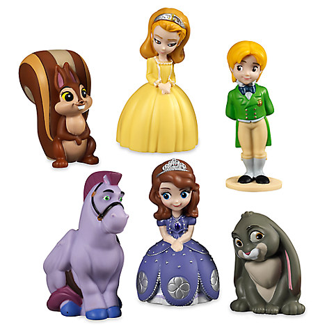 Sofia the First Squeeze Toy Set