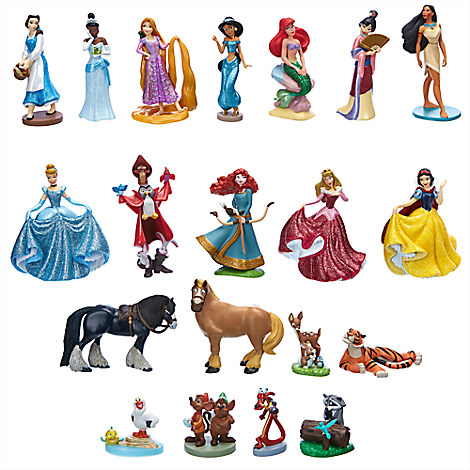 Disney Princess Mega Figure Play Set