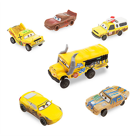 Cars 3 Figurine Play Set