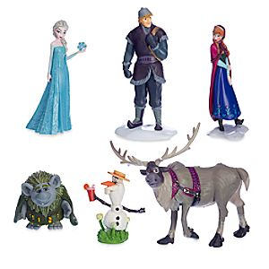 Frozen Figurine Play Set