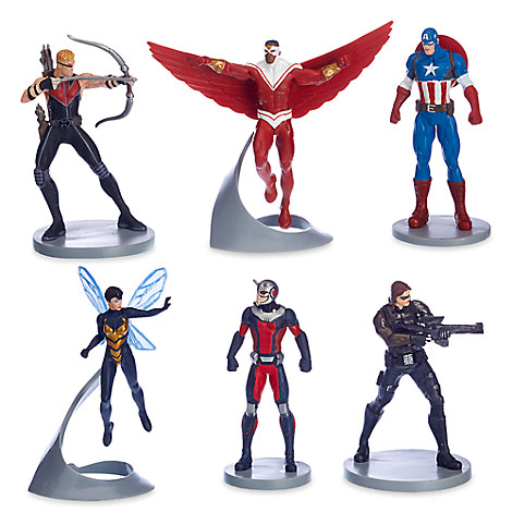 Avengers Captain America Figurine Set