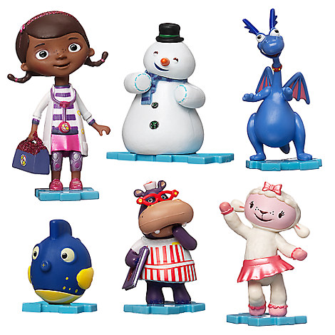 Doc McStuffins Figure Play Set