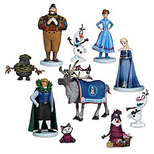 Olaf's Frozen Adventure Deluxe Figure Play Set - 10-Pc. 6107000442261P