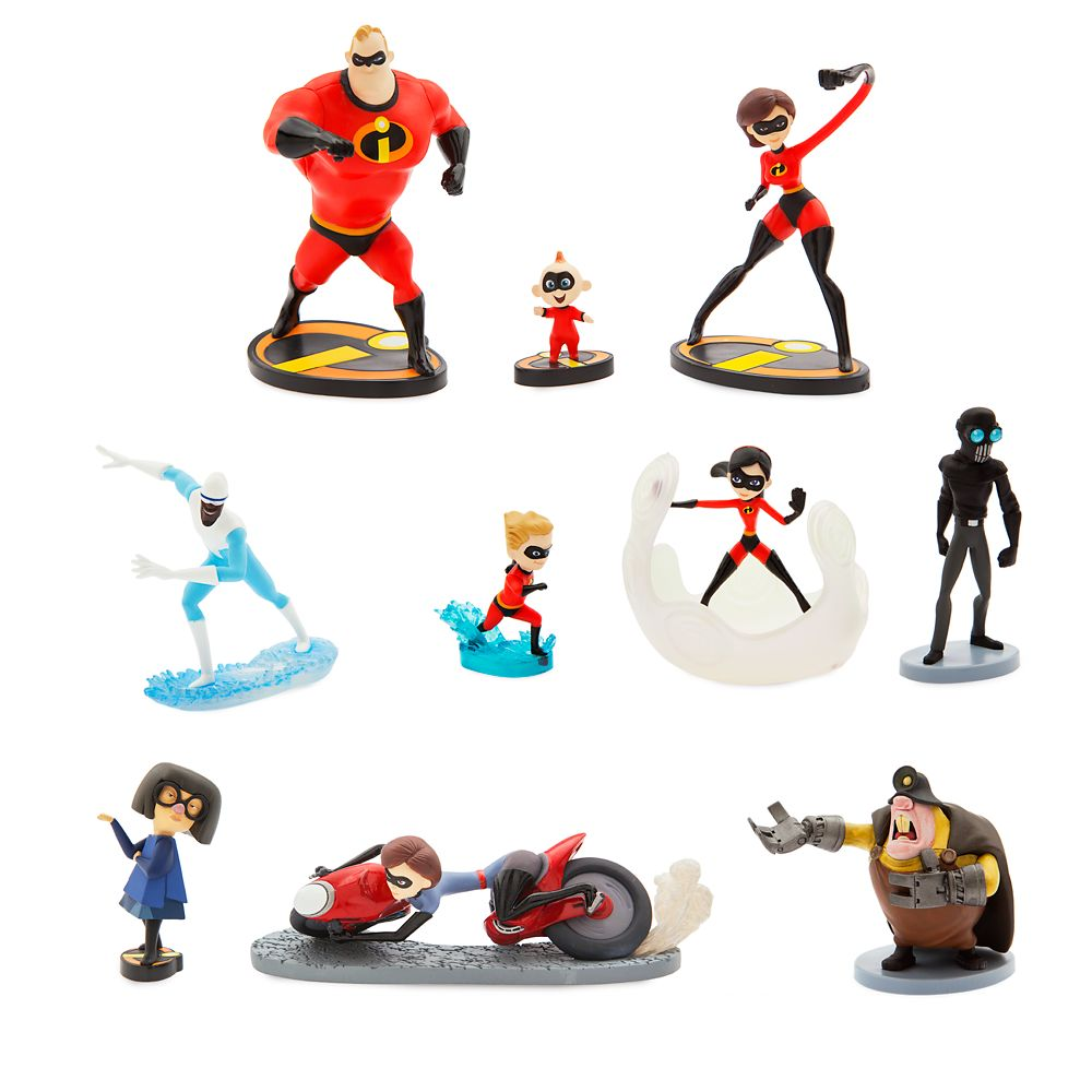 Incredibles 2 Deluxe Figure Set