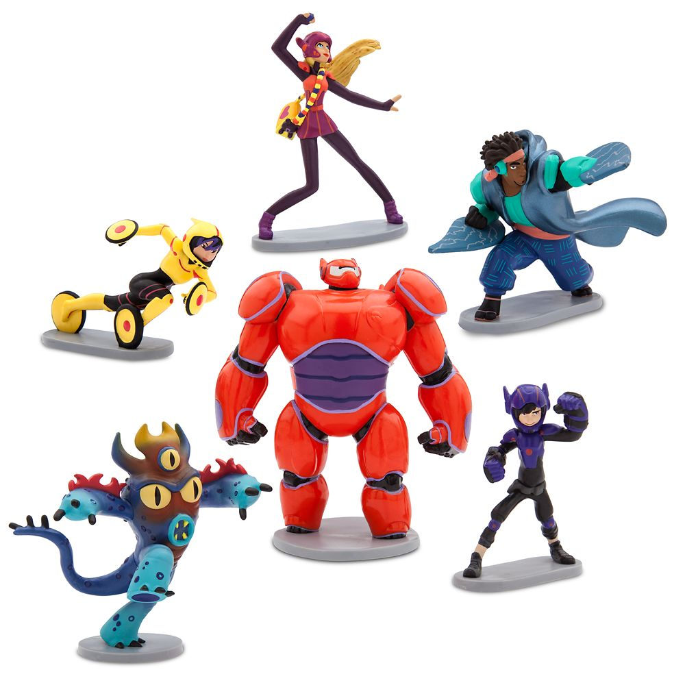 Big Hero 6: The Series Figure Play Set