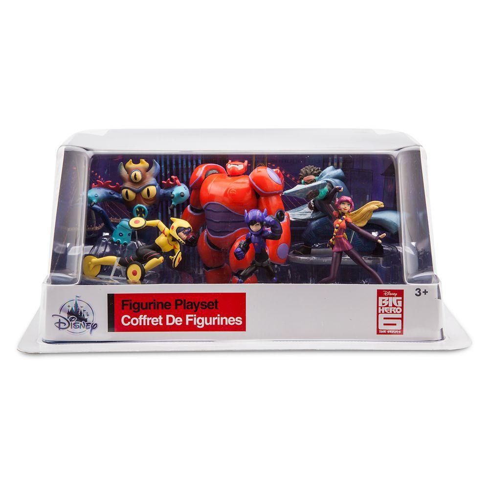 Big Hero 6: The Series Figure Play Set