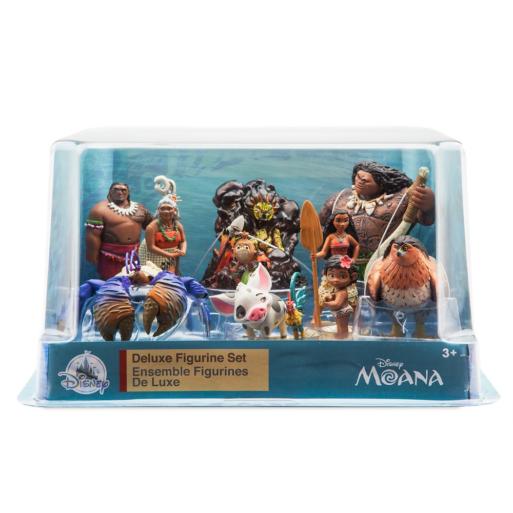 Moana Deluxe Figure Playset