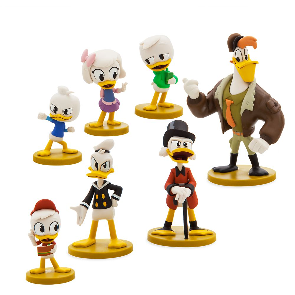 DuckTales Figure Play Set