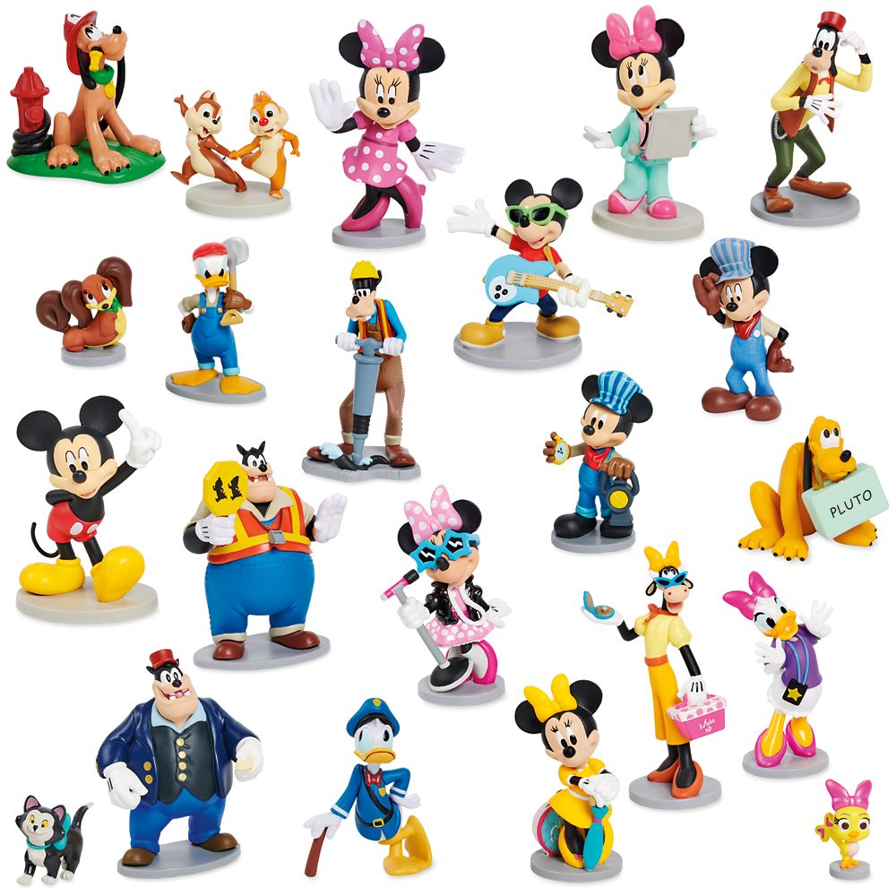 Mickey Mouse and Friends Mega Figurine Set Official shopDisney