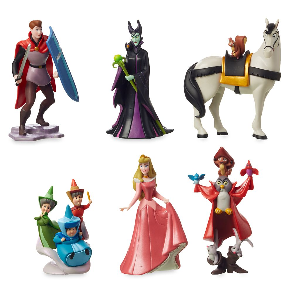Sleeping Beauty Figurine Play Set – 60th Anniversary