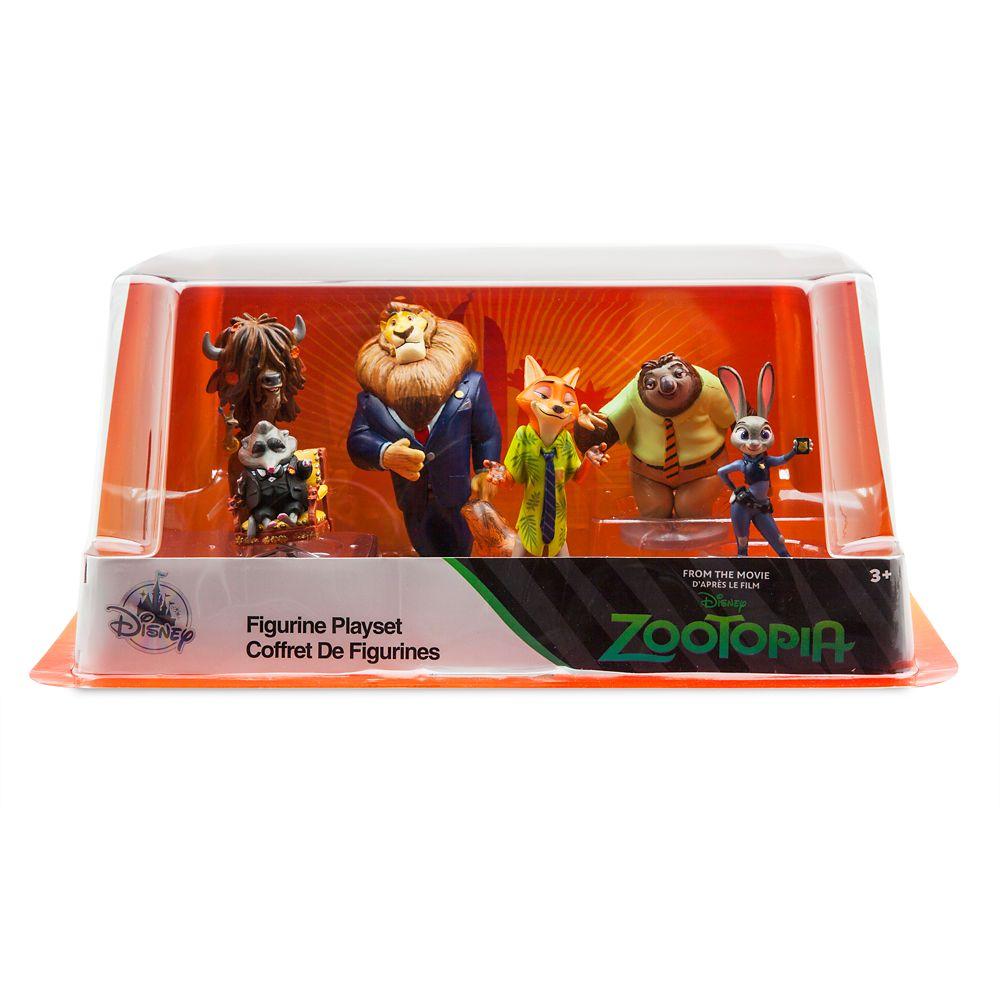 Zootopia Figurine Playset