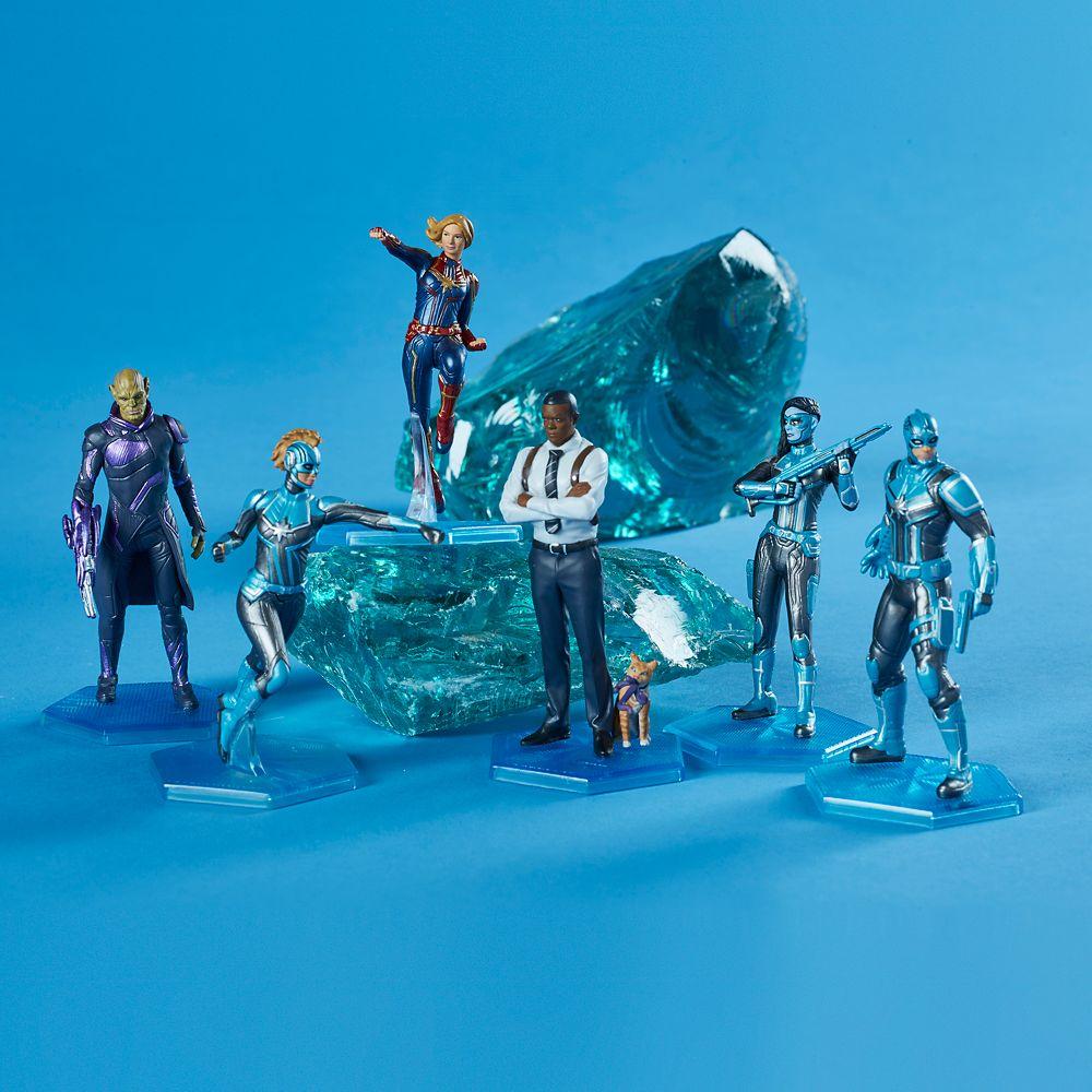 Marvel's Captain Marvel Figure Set