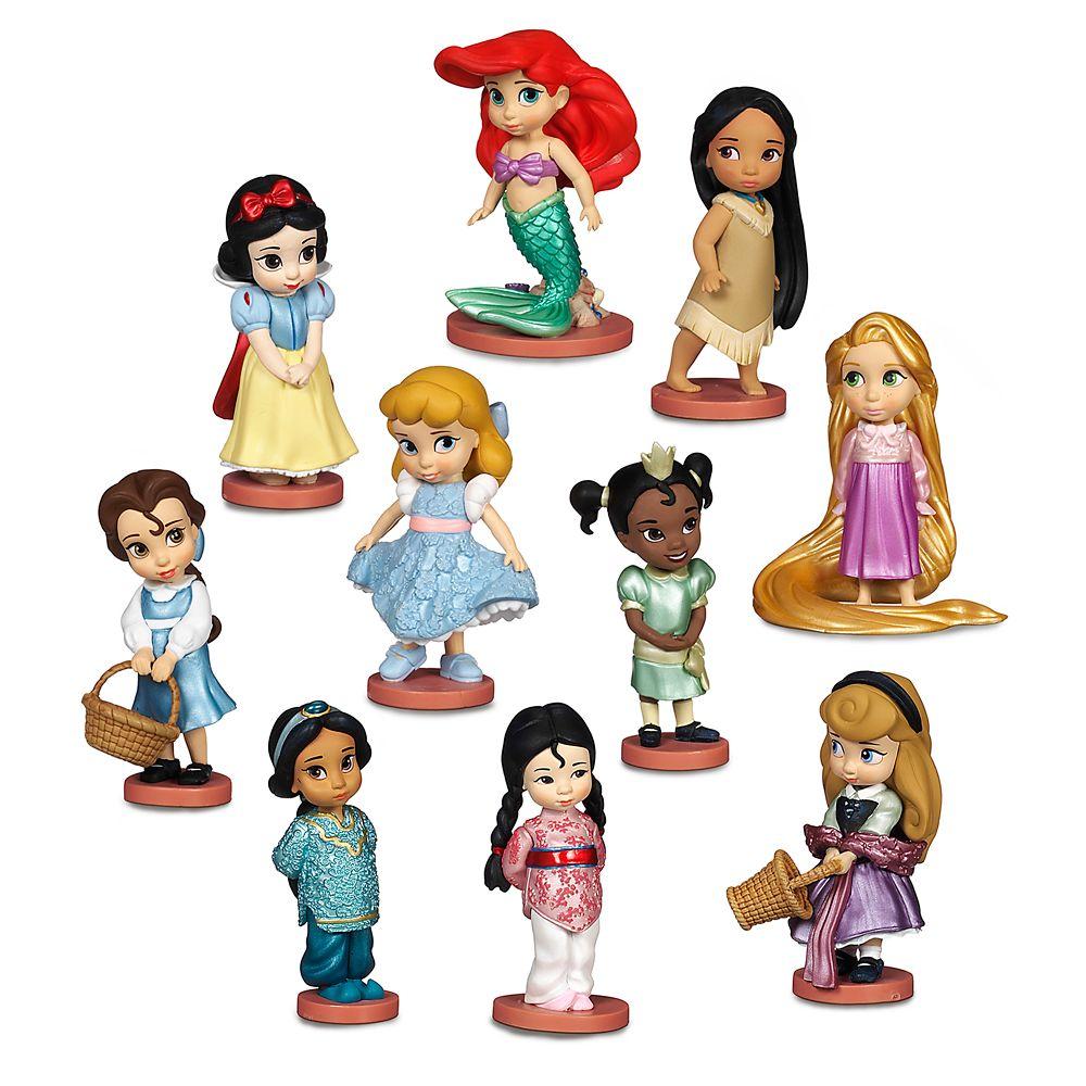 디즈니 애니메이터 디럭스 피규어 세트 Disney Animators Collection Deluxe Figure Play Set