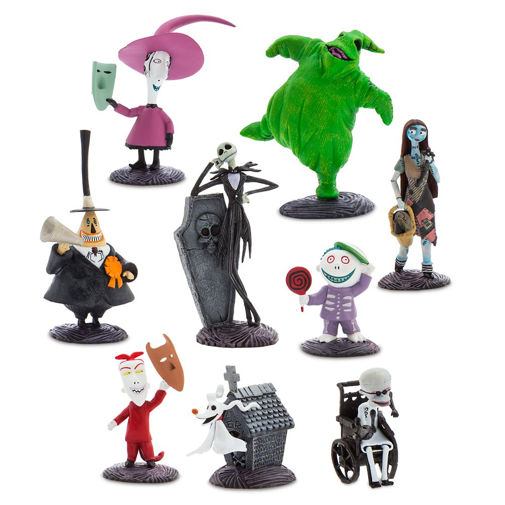 Tim Burton's The Nightmare Before Christmas Deluxe Figure Play Set