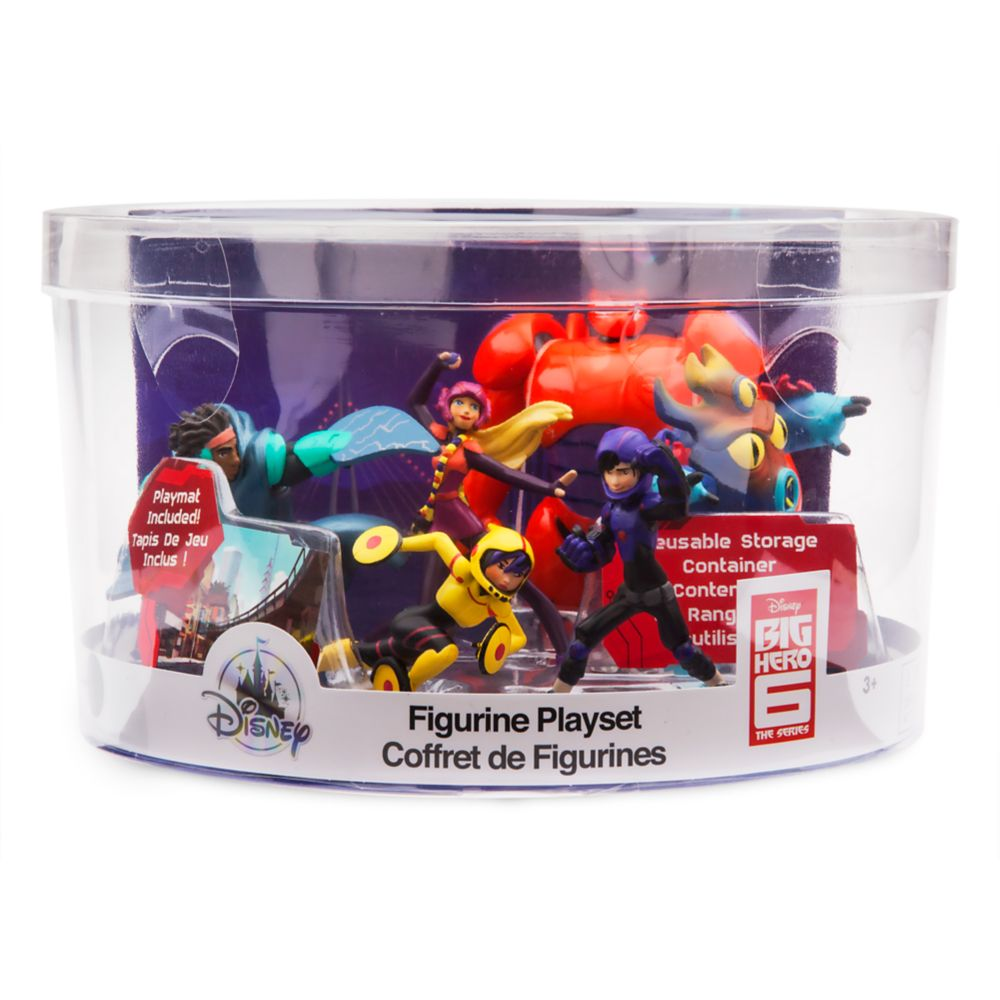 Big Hero 6 Figure Play Set