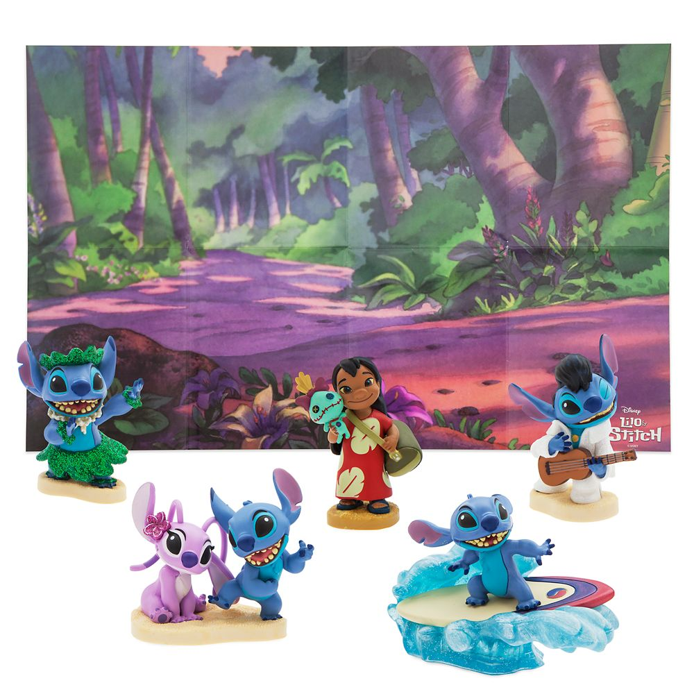 Lilo & Stitch Figure Play Set
