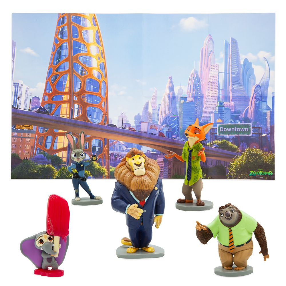 Zootopia Figure Play Set