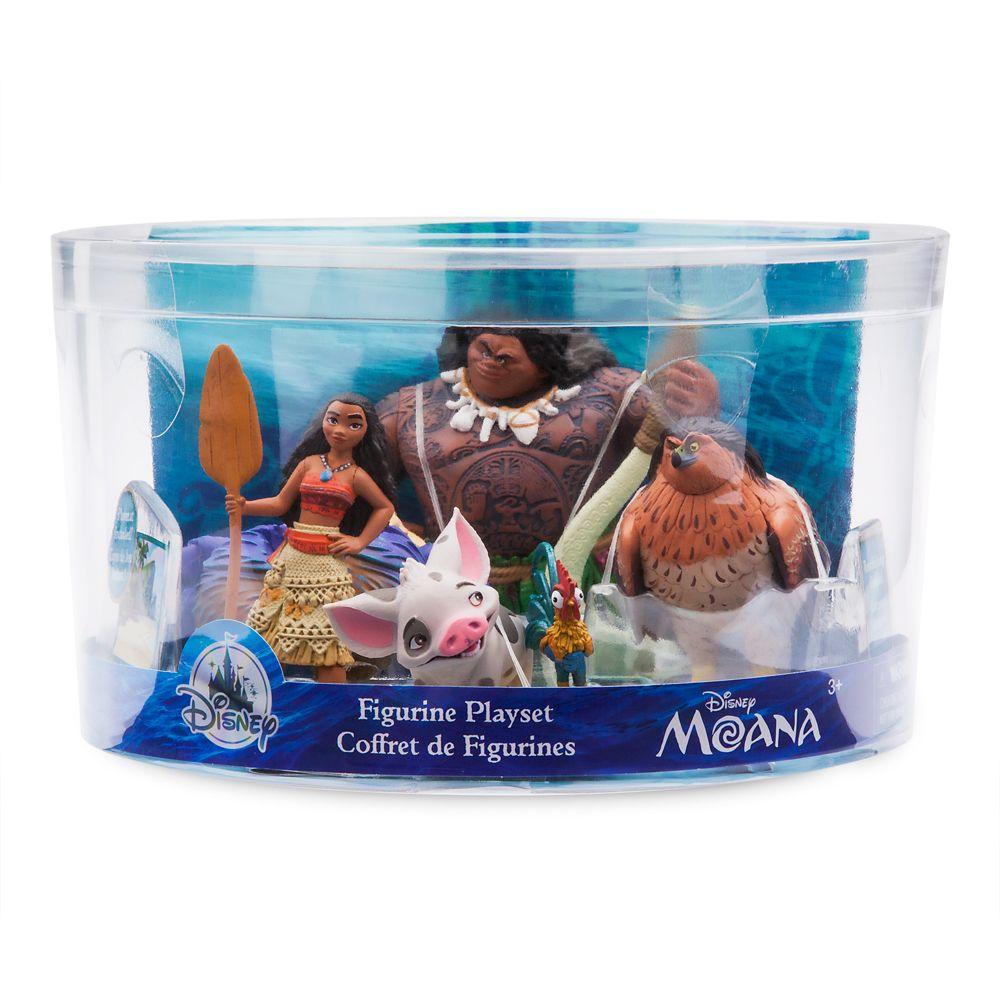 Moana Figure Play Set