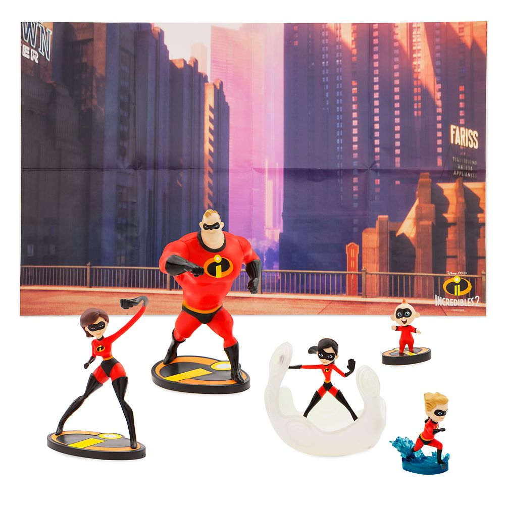 The Incredibles Figure Play Set