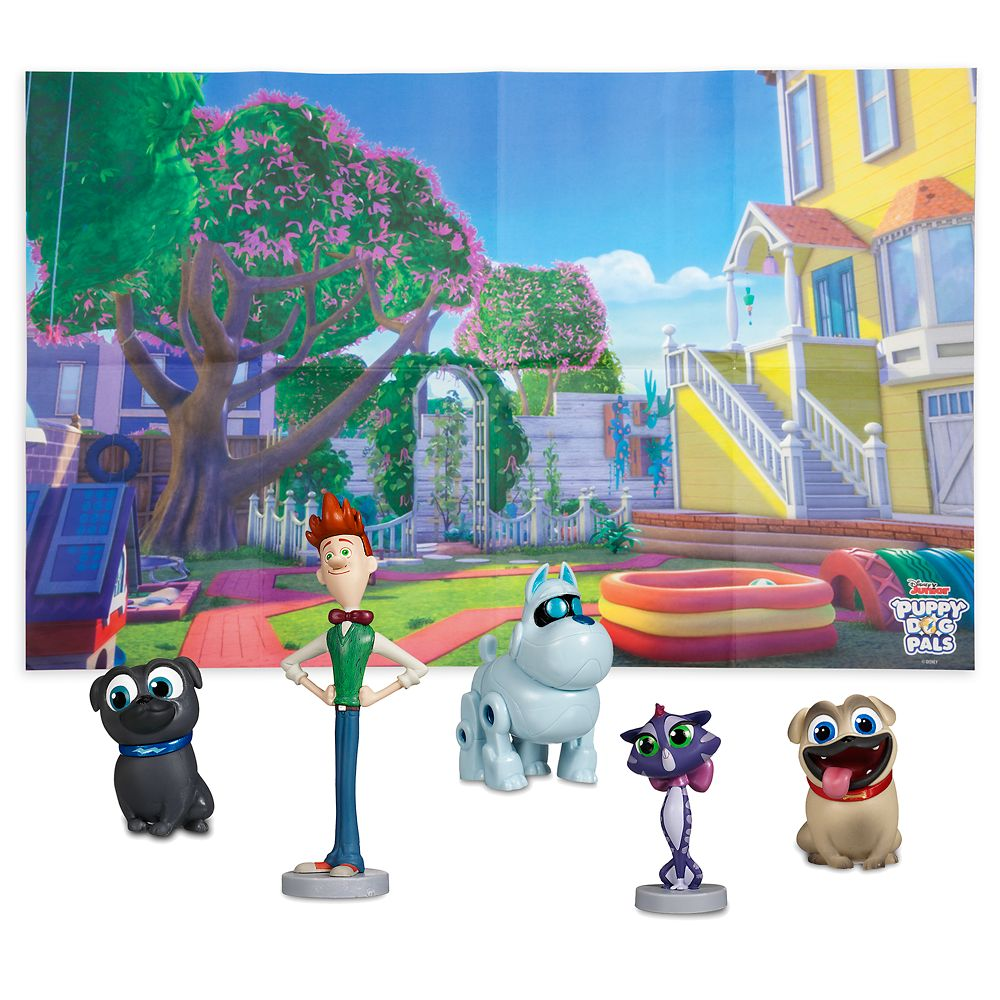 Puppy Dog Pals Figure Play Set