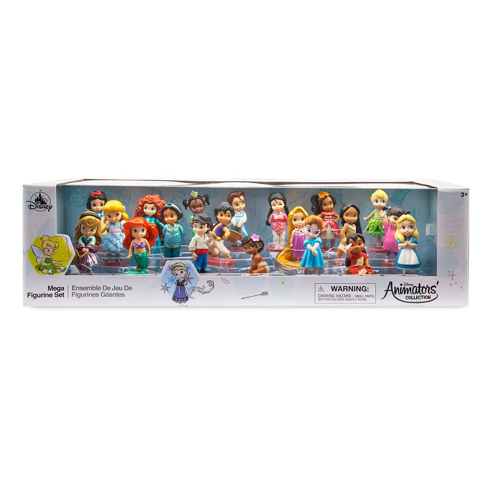 Disney Animators' Collection Mega Figurine Set