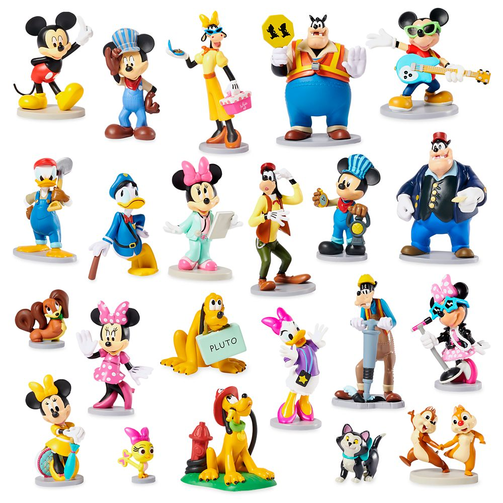 Mickey Mouse and Friends Mega Figurine Set