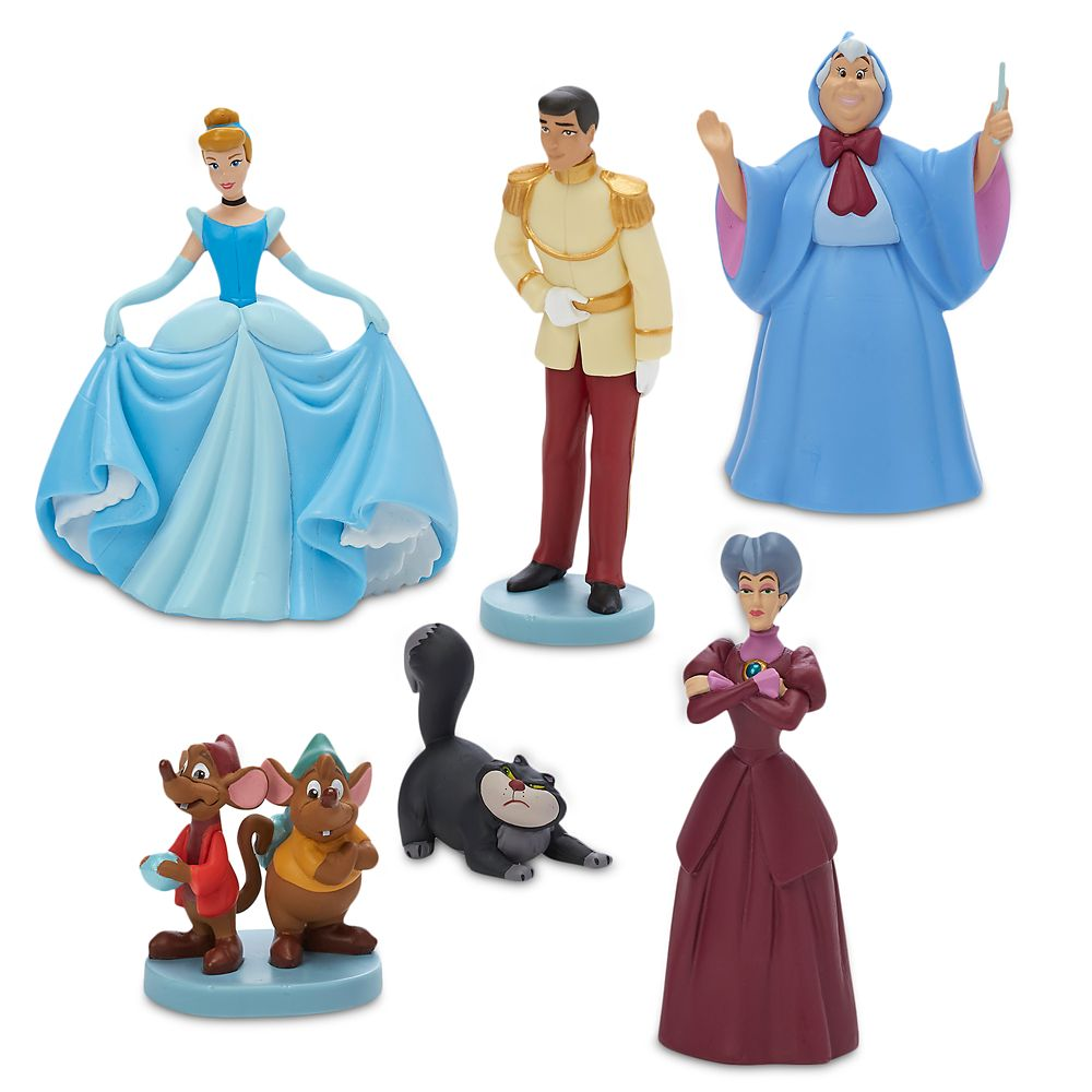 Cinderella Figure Play Set – 70th Anniversary