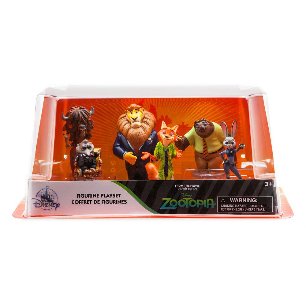 Zootopia Figure Play Set