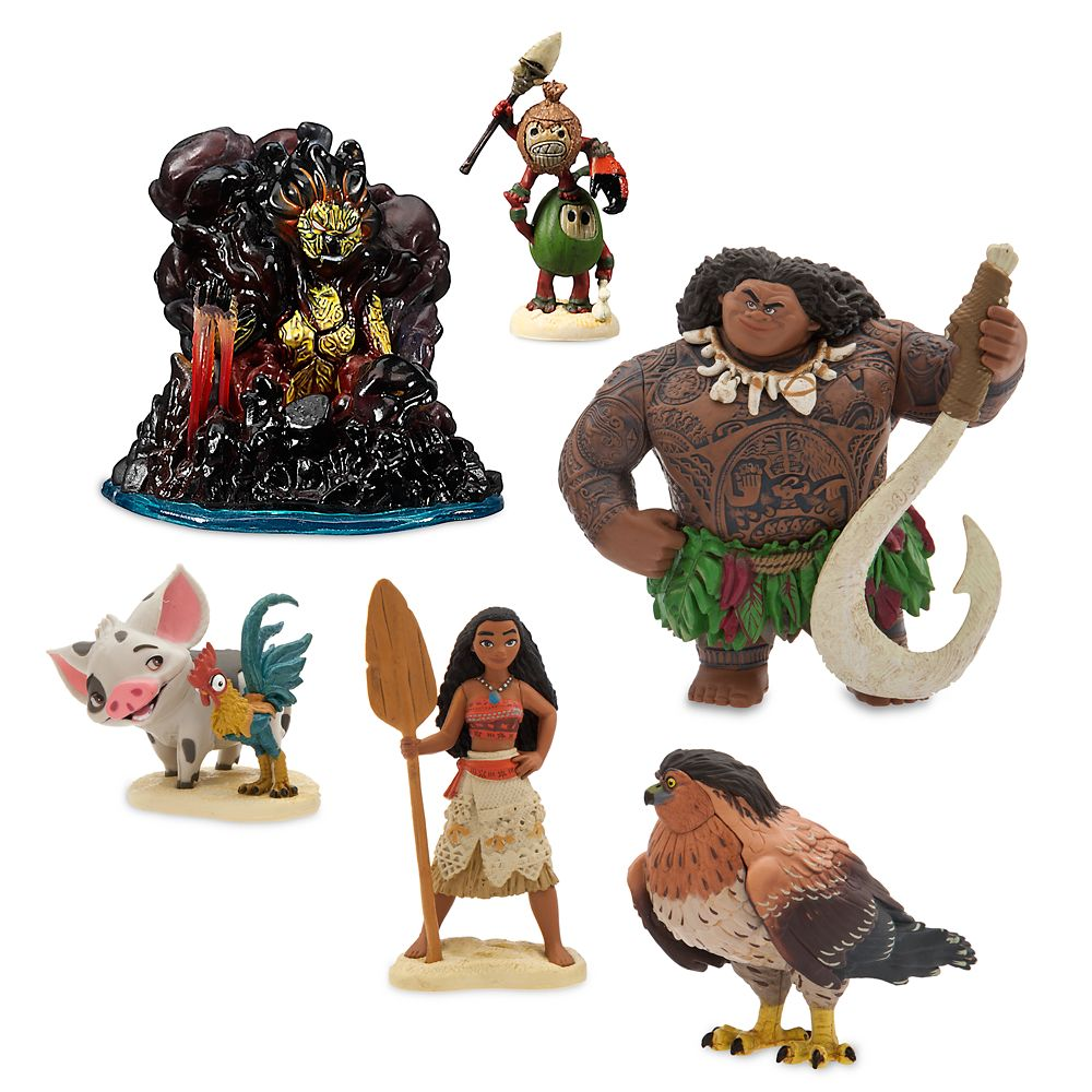 Moana Figure Play Set